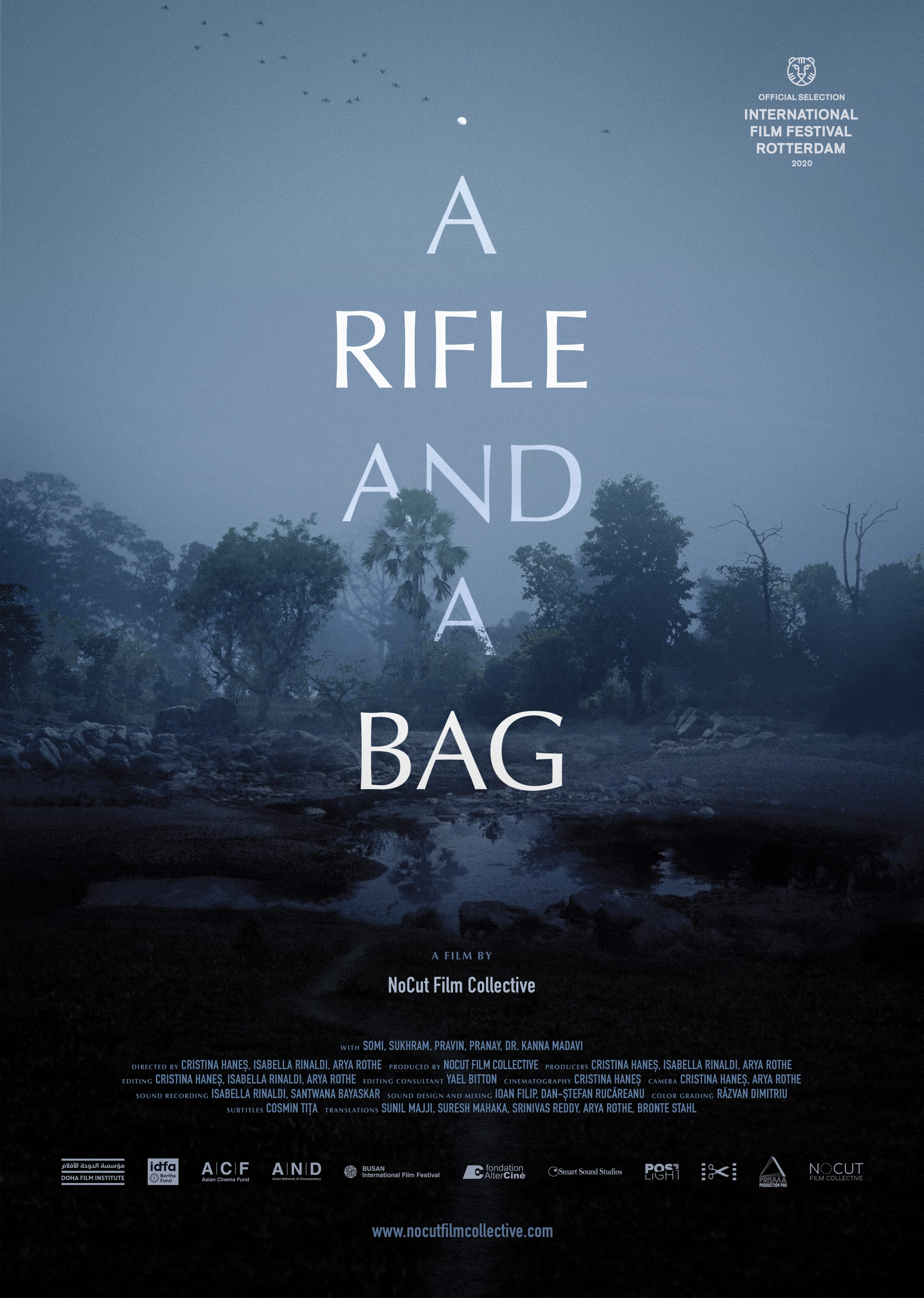 a_rifle_and_a_bag_poster